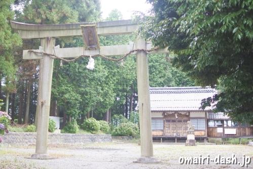 大領神社(岐阜県不破郡垂井町)鳥居