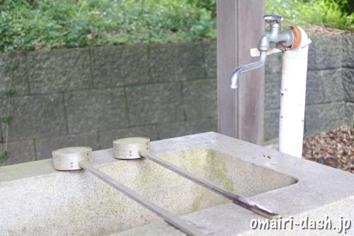 大領神社(岐阜県不破郡垂井町)手水舎