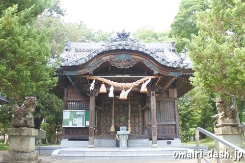 結神社(岐阜県安八町)拝殿
