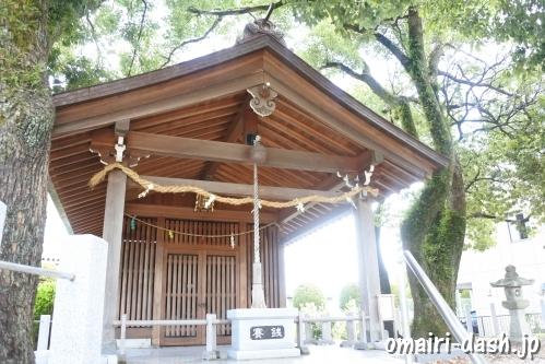 直會神社(愛知県尾張旭市)神殿