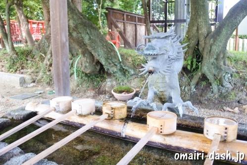 渋川神社(愛知県尾張旭市)手水舎