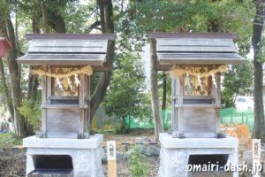 熊野社・八幡社(尾張旭市渋川神社)