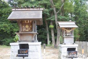 神明社・八剣社(尾張旭市渋川神社)
