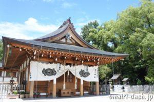 渋川神社(愛知県尾張旭市)拝殿