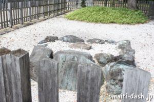 渋川神社(愛知県尾張旭市)旧本殿跡