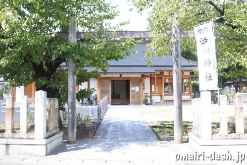 渋川神社(愛知県尾張旭市)冠木門