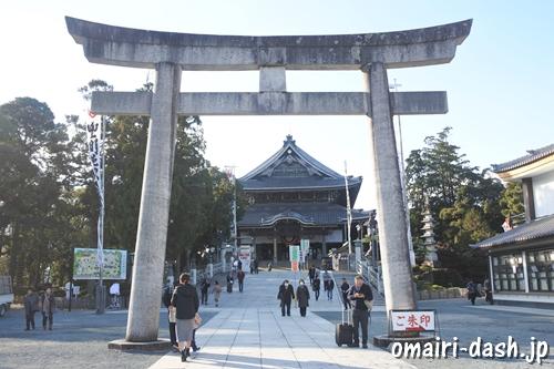 豊川稲荷(愛知県豊川市)鳥居