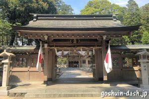 針名神社(名古屋市天白区)神門