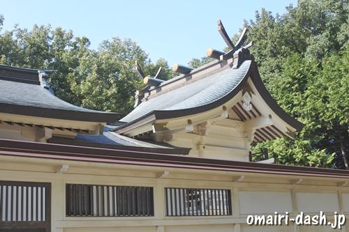 三好八幡社(愛知県みよし市)本殿