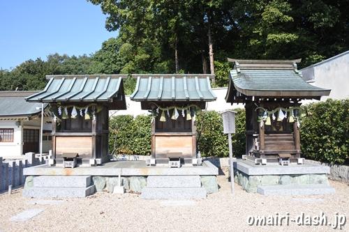 三好八幡社(愛知県みよし市)五穀社・三保社・三好神社