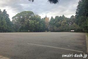 砥鹿神社(愛知県豊川市)大駐車場(170台収容)