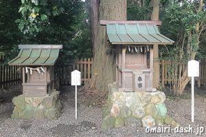 荒羽々気神社と秋葉神社(砥鹿神社里宮)