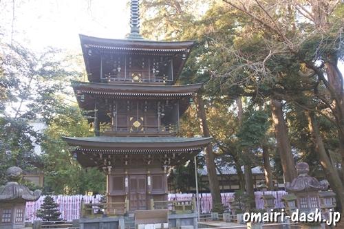 豊川稲荷(愛知県豊川市)三重塔