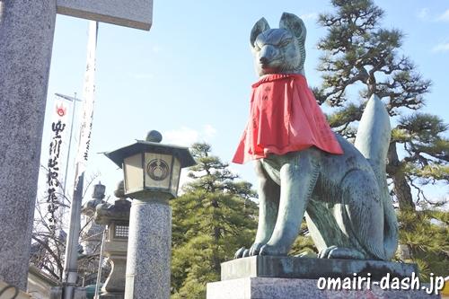 豊川稲荷(愛知県豊川市)狛狐