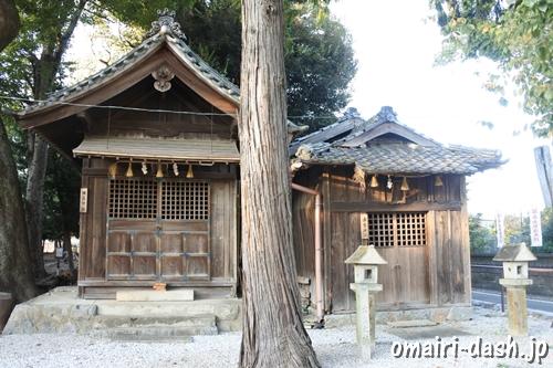 橿原神社と出雲神社(豊川進雄神社)