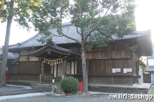豊川進雄神社(愛知県豊川市)社務所
