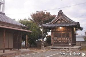稲田神社(愛知県豊川市)社殿