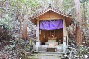 猿田彦三河神社(愛知県幸田町)参道脇のお地蔵様