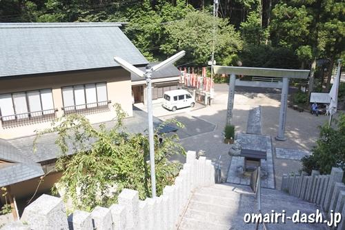 猿田彦三河神社(愛知県幸田町)本殿からの眺め
