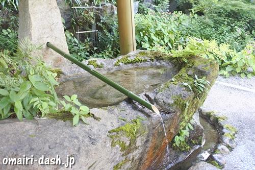 猿田彦三河神社(愛知県幸田町)手水舎