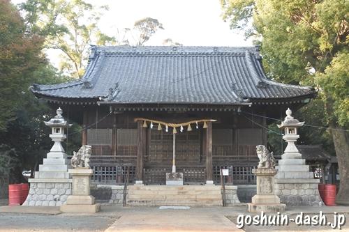 豊川進雄神社(愛知県豊川市)拝殿