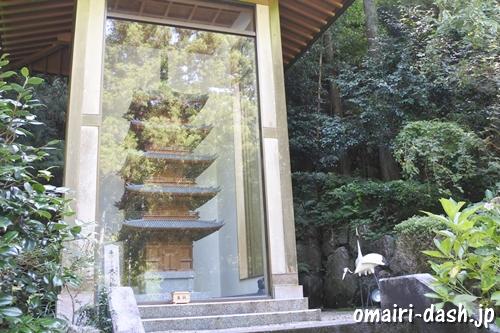 猿田彦三河神社(愛知県幸田町)五重塔(大久保新太郎寄進)