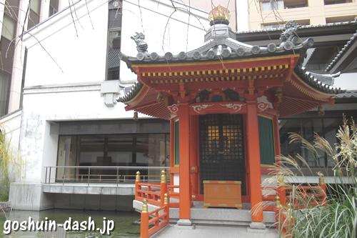 六角堂頂法寺(京都市中京区)太子堂