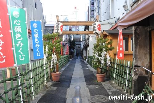 烏森神社(東京都港区新橋)参道