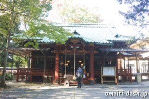 赤坂氷川神社(東京都港区)拝殿