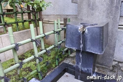 烏森神社(東京都港区)手水舎