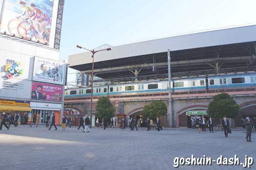 JR新橋駅日比谷口(SL広場)