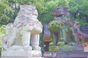 鳴海八幡宮(名古屋市緑区)狛犬