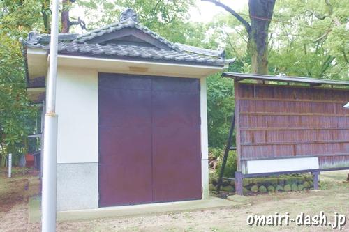 鳴海八幡宮(名古屋市緑区)神輿庫