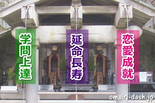 音羽の滝(京都清水寺)のご利益