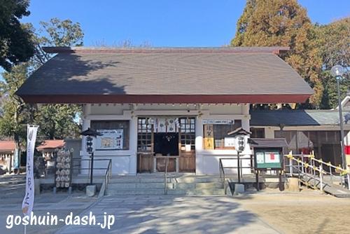 猪子石神明社(名古屋市名東区)拝殿