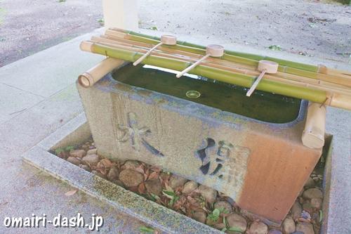 鳴海八幡宮(名古屋市緑区)手水舎