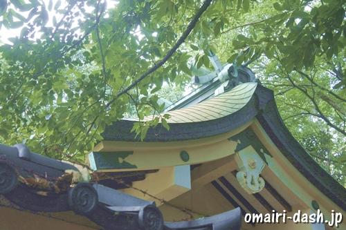 鳴海八幡宮(名古屋市緑区)本殿