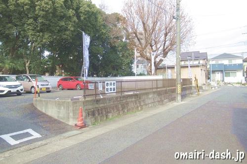 猪子石神明社(名古屋市名東区)参拝者駐車場