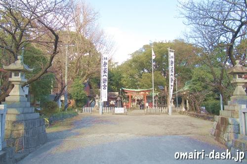 鳴海八幡宮(名古屋市緑区)参拝者駐車場