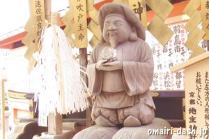 祓戸大神(京都地主神社)