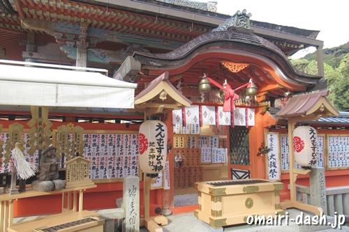 地主神社(京都市東山区)本殿