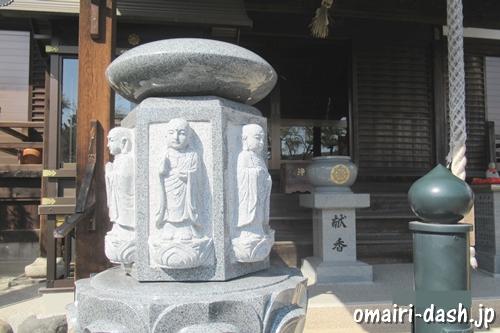 雲龍山宝蔵院(名古屋市中川区)身代わり六地蔵