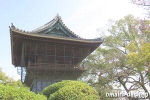徳興山建中寺(名古屋市東区)鐘楼