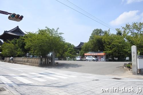 大樹寺(愛知県岡崎市)駐車場