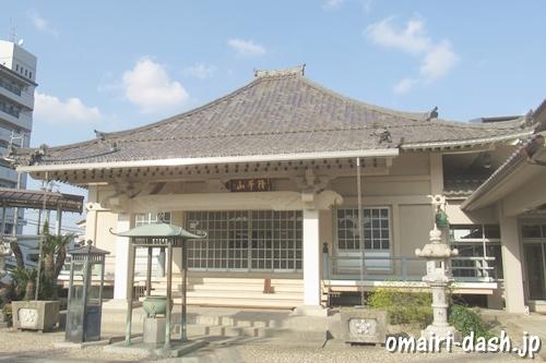 降華山常光院(秋葉山・名古屋市北区)大日堂