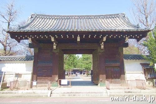 徳興山建中寺(名古屋市東区)総門