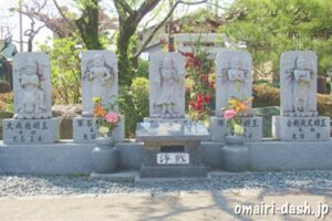 雲龍山宝蔵院(名古屋市中川区)五大明王像