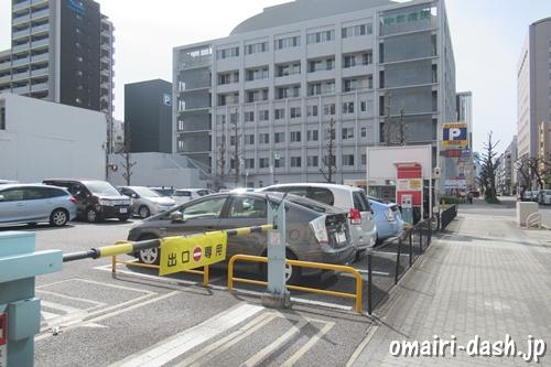 P.ZONE京町通(名古屋少彦名神社近くのコインパーキング)