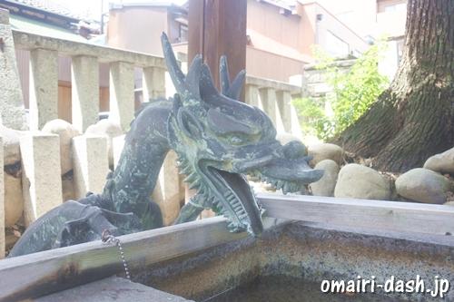 金山神社(名古屋市熱田区)手水舎