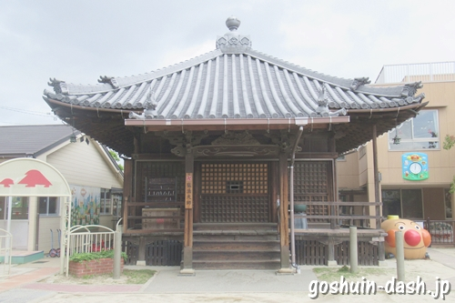 龍王山海上寺(名古屋市瑞穂区)本堂